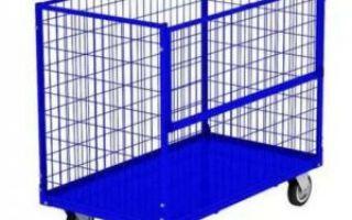 Сетчатые металлические шкафы и контейнеры